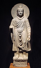 bronze sculpture of the Gautama Buddha 1st–2nd century AD, Gandhara, Pakistan