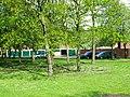 Garage block through the trees - geograph.org.uk - 171971.jpg