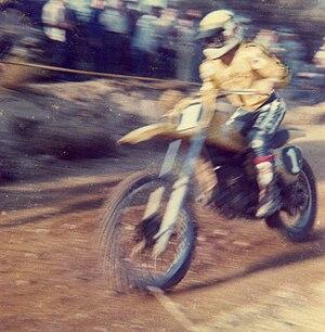 Gaston Rahier - Image: Gaston Rahier Circuit Montgai 1978