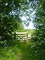 Gate to footpath - geograph.org.uk - 439173.jpg