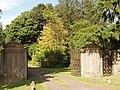 Gates at East Lodge, Balruddery - geograph.org.uk - 558418.jpg