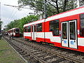 Gdańsk ulica Pomorska - awaria tramwaju.JPG