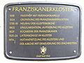 Gedenktafel Franziskanergasse 1 (Bad Tölz) Franziskanerkloster.jpg