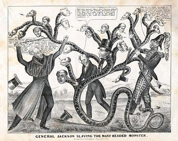 History of the united states 17891849 wikipedia jackson slays the many headed monster that is the bank of the united states publicscrutiny Images