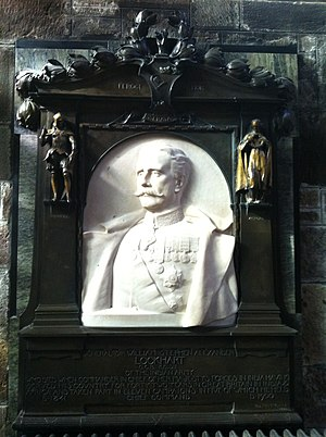 William Lockhart (Indian Army officer) - Memorial in St Giles Cathedral, Edinburgh