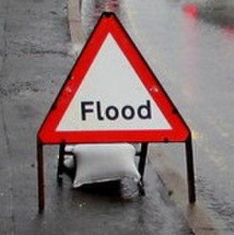 2015–16 Great Britain and Ireland floods - Generic flood image