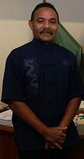 George Wells (politician) Ni-Vanautu politician