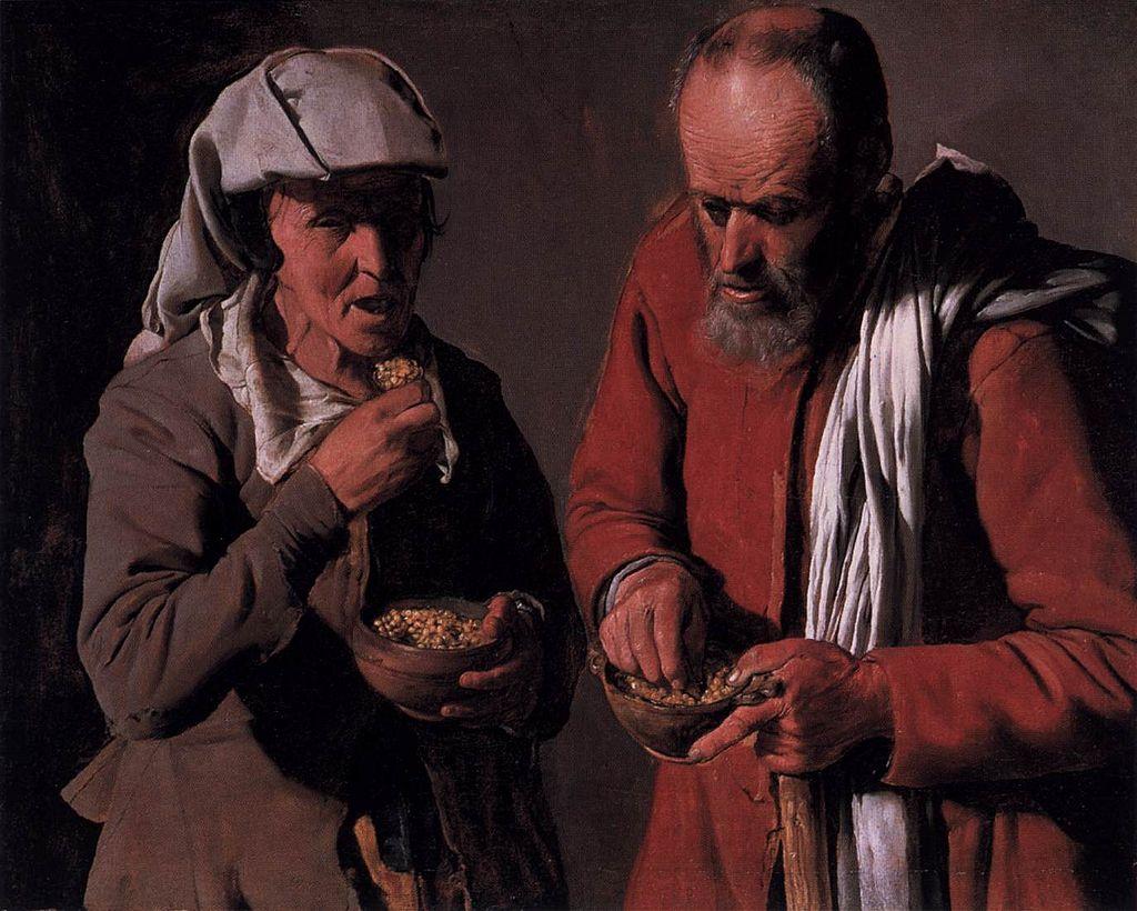 Georges de La Tour - Peasant Couple Eating - WGA12327.jpg