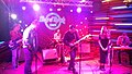 Georgian rock-band Vakis Parki performing at Hard Rock Cafe, Tbilisi. 27 October 2017 11.jpg