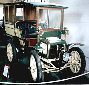 Ateliers Germain - Germain motorcar of 1900