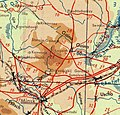 German map of the road Pleschenytsy-Logoysk, 1941.jpg