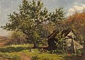 Gertrude Spurr Cutts-Corner of the orchard.jpg