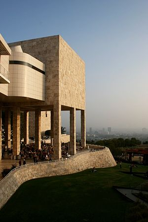 Getty Center - The Getty Center Exhibitions Pavilion.