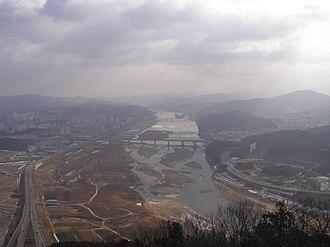 Geum River - Geum River run through Gongju