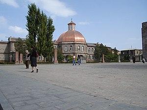 Gevorgian Seminary - General view of the seminary building