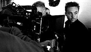 Gavin Heffernan - On set at the AFI in Los Angeles (2007)