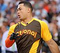 Giancarlo Stanton competes in final round of the '16 T-Mobile -HRDerby (28568338775).jpg
