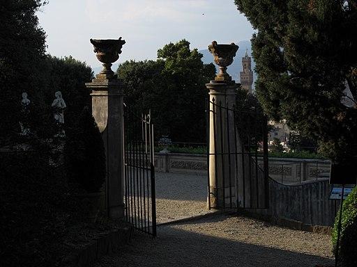Firenze, Giardino Bardini, cancello