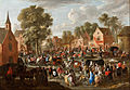 Gillis van TILBORGH the younger - Village kermis - Google Art Project.jpg