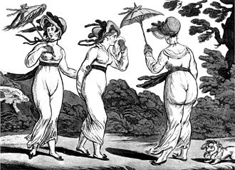 William Tollemache, Lord Huntingtower (1766–1833) - Image: Gillray Three Graces in High Wind
