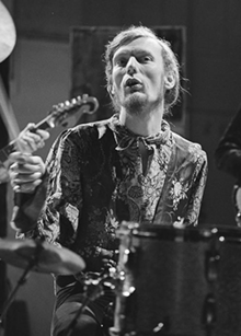 Ginger Baker (Cream) on Fanclub in 1968 (cropped).png