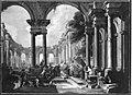 Giovanni Paolo Pannini - Architekturbild (Christus heilt den Gichtbrüchigen) - 2363 - Bavarian State Painting Collections.jpg