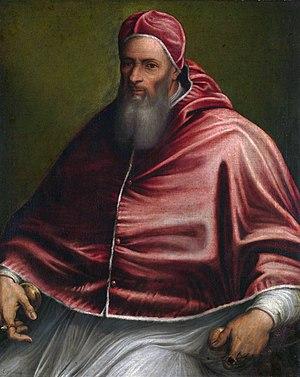 Papal conclave, 1549–50 - Image: Girolamo Sicciolante Paus Julius III