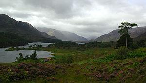 Battle of Glen Affric - Loch Affric in Glen Affric