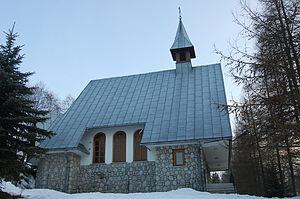 Gliczarów Dolny - Chapel in the village