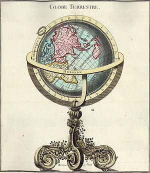 Globe terrestre, from: Claude Buy de Mornas: A...