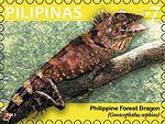 Gonocephalus sophiae 2011 stamp of the Philippines.jpg