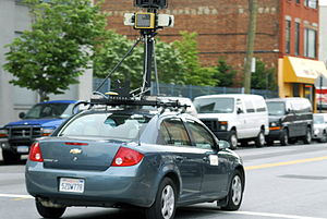 Google Street View Car in Hunters Point, Long ...