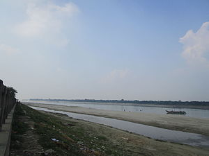 Gorai-Madhumati River - The Gorai River at Kushtia Borobazar ghat