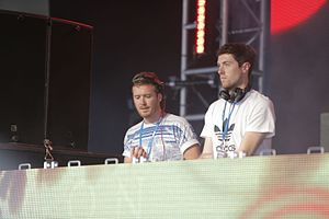 "I Cry When I Laugh - Critics praised the collaboration between Glynne and Gorgon City on the lead single, ""Right Here""."