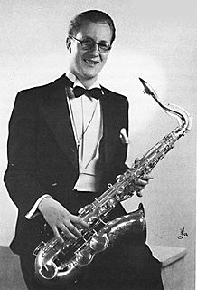 Zilas Görling Swedish saxophonist (1911-1960)