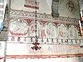 Gotland-Gothem kyrka Kirchenschiff Nordseite.jpg