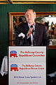 Governor of Virginia Jim Gilmore at Belknap County Republican LINCOLN DAY FIRST-IN-THE-NATION PRESIDENTIAL SUNSET DINNER CRUISE, Weirs Beach, New Hampshire May 2015 by Michael Vadon 01.jpg