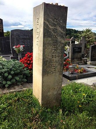 Martin Kippenberger - Grave of Martin Kippenberger, Jennersdorf, Austria