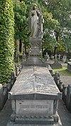 foto van Graf familie Fens-Van Moll, begraafplaats Catharinakerk