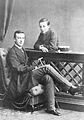 Grand Duke Nicholas Mikhailovich and Grand Duke Michael Mikhailovich of Russia Baden 1876.JPG