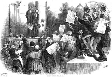 "Grant is congratulated for vetoing the ""inflation bill"" in 1874. Grant Inflation Bill Veto.jpg"