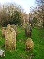 Graveyard, St John sub Castro - geograph.org.uk - 331375.jpg