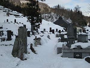 English: A graveyard in Nagano prefecture, Japan