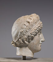 Greco-Roman - Woman's Head with Diadem - Walters 23241 - Right.jpg