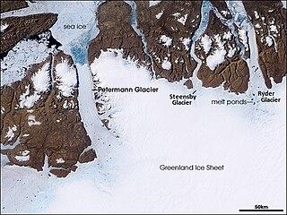 Petermann Glacier glacier in Greenland