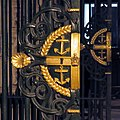Greenwich Hospital, College Way entrance gate 07.jpg