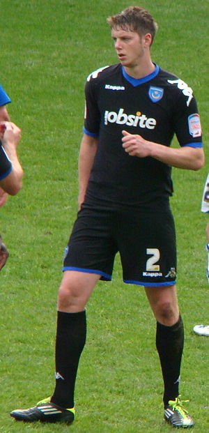 Greg Halford - Halford before a Portsmouth match in May 2011