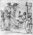 Grimaldi, copia della caduta di simon mago già nel portico dell'antica basilica di san pietro (Bibl. ap. vat., cod. Barberiniano Latino 2733).jpg