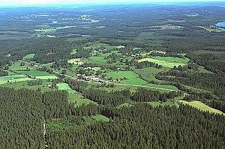South Swedish highlands highland