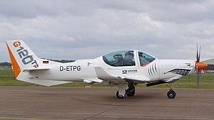 Grob G 120 - G120TP variant in 2011